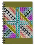 Beauty In The Cross Spiral Notebook