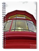 Beauty In The Lighthouse Lens Spiral Notebook
