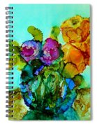 Beauty Of Flowers Spiral Notebook