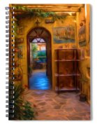 Beauty Of Greek Architechture Spiral Notebook