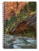 Beauty Of The Narrows Spiral Notebook