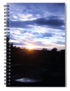 Somewhere The Sun Is Shining Spiral Notebook