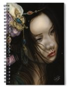 Beauty Of The Orient Spiral Notebook