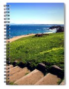 Beauty Of The Pacific Grove Shoreline Two Spiral Notebook