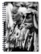 Pow Wow Beauty Of The Past Spiral Notebook