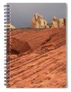 Beauty Of The Sandstone Landscape Spiral Notebook