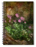 Beauty On An Old Stone Wall Spiral Notebook