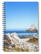 Beauty On The Pacific Coast Spiral Notebook