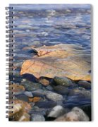 Beauty On The Shore Spiral Notebook