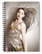 Beauty Salon Pinup Spiral Notebook