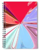 Beauty Shock, Wings Of Imagination Spiral Notebook