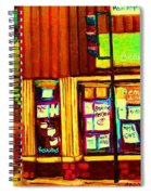 Beautys  Famous Mishmash Spiral Notebook
