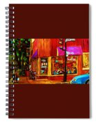 Beautys Luncheonette  Spiral Notebook
