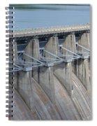 Beaver Dam Spillway Gates Spiral Notebook