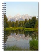 Beaver Pond At Schwabacher Landing Spiral Notebook