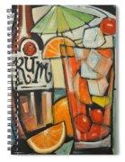 Bebida De Turista Spiral Notebook