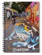 Beco Do Batman, Sao Paulo, Brazil Spiral Notebook
