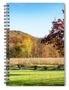 Bedford, Pa Fall Landscape Spiral Notebook