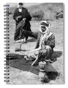 Bedouin Falconer, C1910 Spiral Notebook