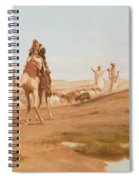 Bedouin In The Desert Spiral Notebook