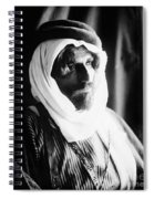 Bedouin Man, C1910 Spiral Notebook
