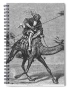 Bedouin Messenger Spiral Notebook