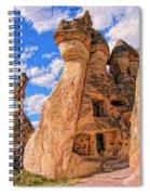 Bedrock Estates Spiral Notebook
