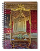 Bedroom At Holkham Hall Spiral Notebook