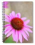 Bee In Motion Spiral Notebook
