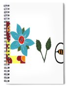 Bee Love Spiral Notebook