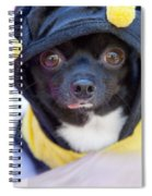 Chihuahua Says Bee Mine Spiral Notebook
