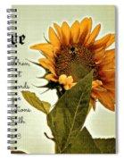 Bee Mine - Verse Spiral Notebook