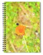 Bee My Flower Spiral Notebook