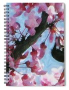 Bee To The Blossom Spiral Notebook