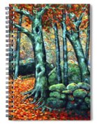 Beech Woods Spiral Notebook