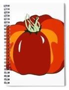 Beefsteak Tomato Spiral Notebook