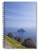 Beehive Stone Huts, Skellig Michael County Kerry Ireland Spiral Notebook