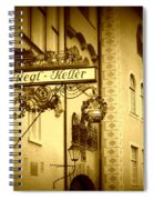 Beer Cellar In Salzburg Spiral Notebook