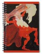 Beer Demon Spiral Notebook