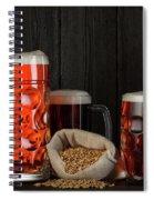 Beer Spiral Notebook