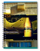 Beer Is Golden-america The Addicted Series Spiral Notebook