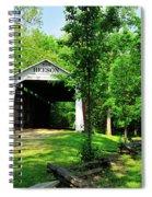 Beeson Covered Bridge Spiral Notebook