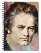 Beethoven Spiral Notebook