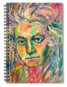 Beethoven Energy  Spiral Notebook