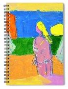 Before A Window Spiral Notebook