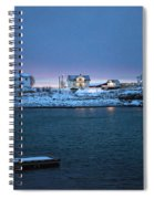 Before Dawn Reine Lofoten Spiral Notebook