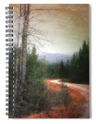 Before The Snow Spiral Notebook