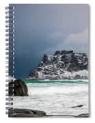 The Coming Of The Storm Spiral Notebook