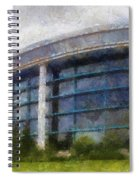 Before The Storm Chicago Shedd Aquarium Northside Pa 02 Spiral Notebook