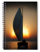Before The Sun Sets... Spiral Notebook